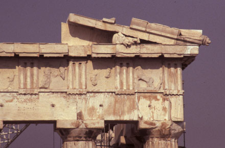 Fig. 4 The northern end of the eastern pediment, the Parthenon